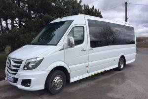 prague minibus service